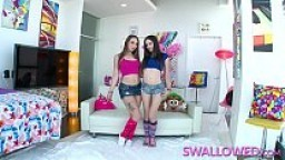 SWALLOWED Rimjobs and blowjobs with Jenna and Taylor