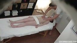 Massage room spycam clip