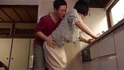 kitchen quicky with mom - TEENSTROKE.COM