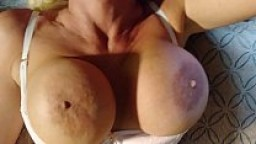 GREATEST UPSIDE DOWN BLOWJOB OF ALL TIME. BLONDE BANDItt PERFECT HUGE TITS  BIG HARD NIPPLES  SHE SUCKS A COCK UPSIDE DO