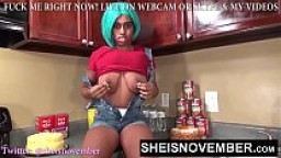 Ebony Rough Sex Step Sister Reverse Cowgirl Hardcore Dick Riding Sexy Bitch Fuck