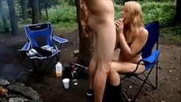 Mya Lane Gives Blowjob in the Forrest